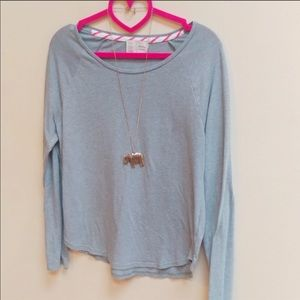 Anthropologie Saturday Sunday cozy long sleeve tee